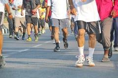 Событие бега Хайдарабада 10K, Индия Стоковое Фото