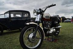 Событие велосипеда Triumoh 1958 классическое Стоковая Фотография