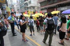 Событие 2015 в марше Гонконга 26th годовщины протестов площади Тиананмен 1989 Стоковые Изображения