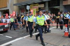 Событие 2015 в марше Гонконга 26th годовщины протестов площади Тиананмен 1989 Стоковая Фотография RF