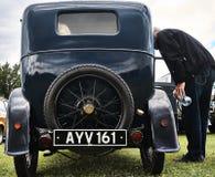 Событие года сбора винограда автомобиля Остина классическое Стоковая Фотография RF