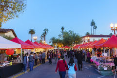 Событие Нового Года San Gabriel китайское Стоковое фото RF