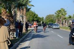 Событие пумы бежит озеро - Афины, Греция Стоковое Фото
