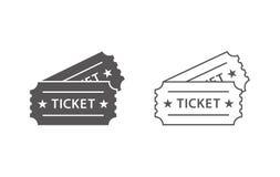 Событие снабжает значки билетами 2 Стоковые Изображения RF