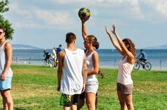 Событие Korfball лета в Стамбуле Стоковое Изображение