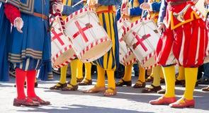 События костюмов тосканские, Флоренция Стоковые Изображения