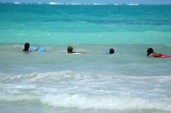 совершенная волна Стоковые Фото