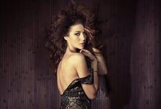 Совершенная кожа красивейшей женщины Стоковые Фото