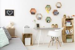 Совершенная комната для девочка-подростка Стоковые Фото