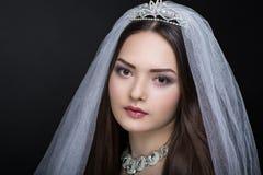 Совершенная красивая невеста Стоковое фото RF