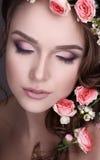 Совершенная красота/украшение цветков, грандиозного состава/творческих идеи/концепции красоты Стоковое Изображение RF