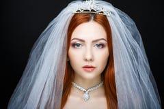 Совершенная невеста составляет Стоковые Изображения RF
