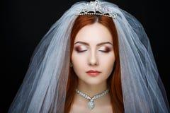 Совершенная невеста составляет Стоковое Изображение RF