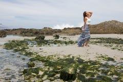 Совершенная съемка пляжа Стоковая Фотография