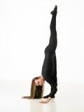 Совершенное представление гимнастики стоковое изображение rf