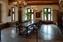 Совершенно деревянная столовая стоковые фото