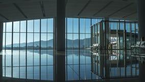 Совершенно новый зал ожидания авиапорта Стоковые Изображения