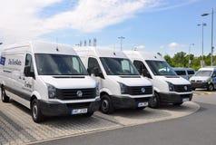 Совершенно новый транспортер Volkwagen Стоковые Изображения
