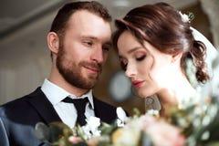 Совершенные пары свадьбы Стоковые Фото