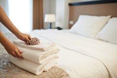 Совершенный гостиничный сервис стоковые изображения rf