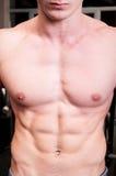 Совершенный мужчина фитнеса Стоковая Фотография