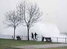 совершенный шторм Стоковая Фотография