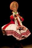 совершитель kathakali стоковые фотографии rf