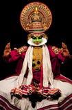 совершитель kathakali стоковые изображения rf