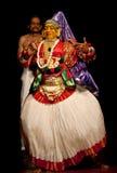 совершитель kathakali стоковые фото