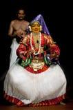 совершитель kathakali стоковое изображение