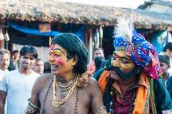 Совершители на праздничной ярмарке Стоковые Изображения RF