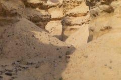 Совершите пассаж в среднем Canions, пустыне Namibe anisette Стоковая Фотография RF