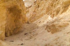 Совершите пассаж в средних каньонах, пустыне Namibe anisette Стоковые Изображения