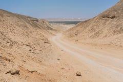 Совершите пассаж в средних каньонах, пустыне Namibe anisette Стоковая Фотография