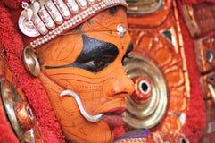 Совершитель Theyyam Стоковая Фотография