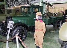 Советская тележка ZIS-12 Стоковая Фотография RF