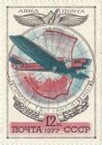 Советские воздушные судн ANT-4 стоковое фото