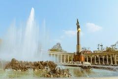 Советские герои военного мемориала Красной Армии стоковые изображения