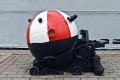 Советские подводные шахты анкера Стоковое Изображение