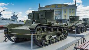 Советский воюя танк стоковое фото rf