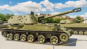 Советский воюя танк стоковое фото