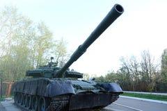 Советский главный боевой танк Оно было создано в начале 1960-ых годов в конструкторском бюро Morozov Харькова оружия танка боя Стоковая Фотография RF