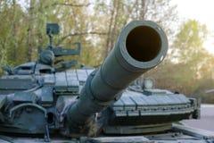 Советский главный боевой танк Оно было создано в начале 1960-ых годов в конструкторском бюро Morozov Харькова оружия танка боя стоковое фото