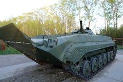 Советский главный боевой танк Оно было создано в начале 1960-ых годов в конструкторском бюро Morozov Харькова оружия танка боя стоковые изображения
