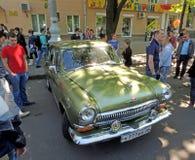 Советский исполнительный автомобиль 1960s GAZ 21 Волги стоковое фото