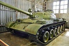 Советский объект 167 экспириментально танка Стоковая Фотография