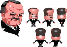 Советский политик Стоковая Фотография