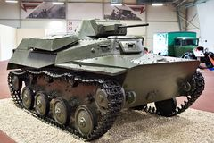 Советский светлый танк T-40C Стоковое Фото