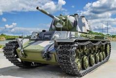 Советский танк KV - 1 Стоковые Изображения