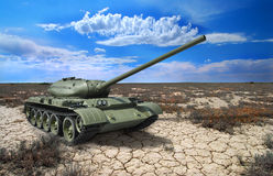 Советский танк T-54 1946 год Стоковая Фотография RF